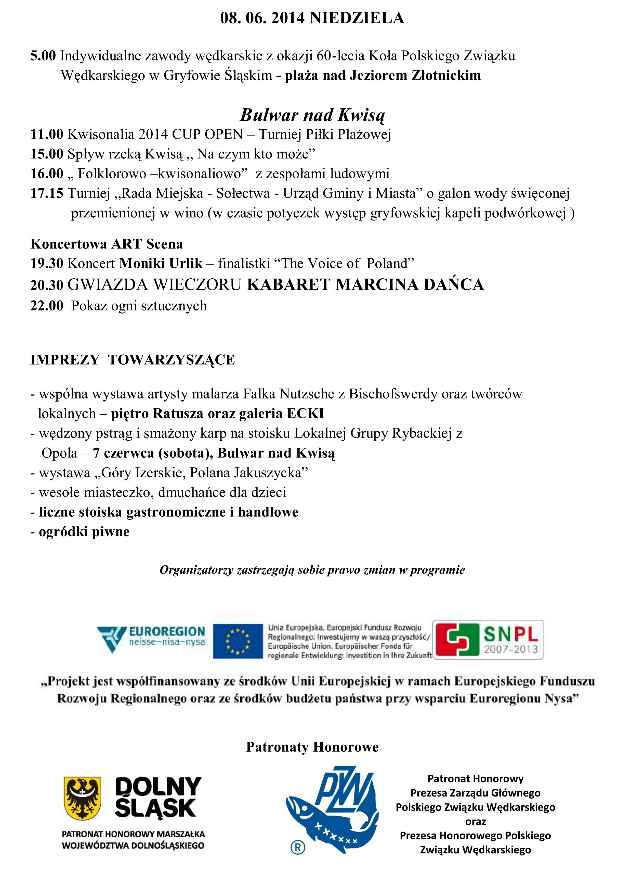 KWISONALIA 2014 program aktualny na 16 MAJA_04