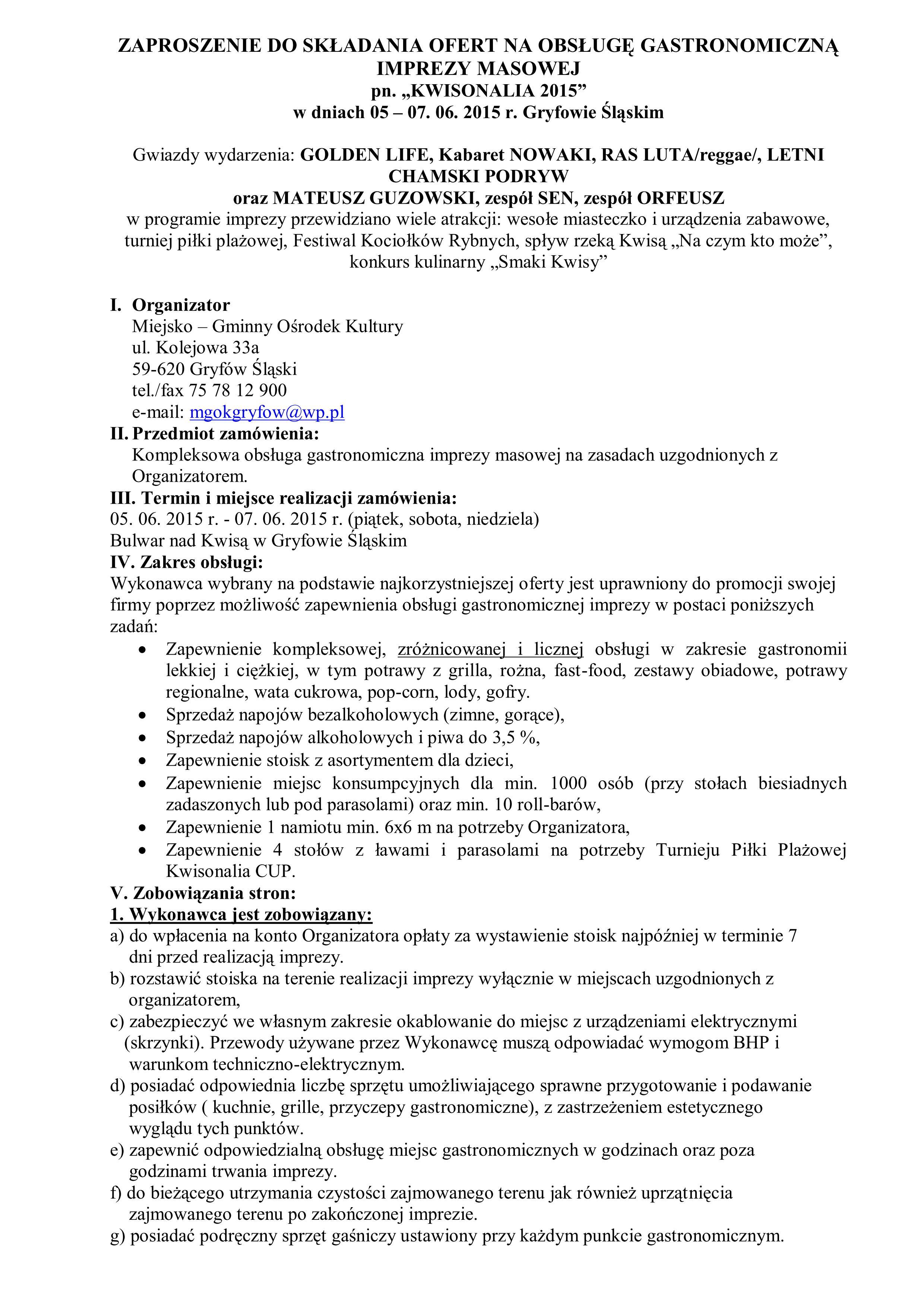 ZAPROSZENIE DO SKŁADANIA OFERT NA OBSŁUGĘ GASTRONOMICZNĄ IMPREZY MASOWEJ_01